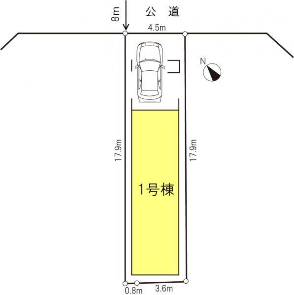 新築戸建 板橋区成増3丁目50-6 東武東上線成増駅 4980万円