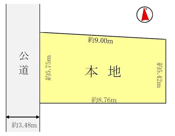 土地 葛飾区宝町2丁目2-21 京成本線お花茶屋駅 2300万円