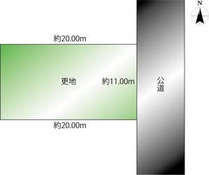 土地 丹波市260-35 JR福知山線藍本駅 850000