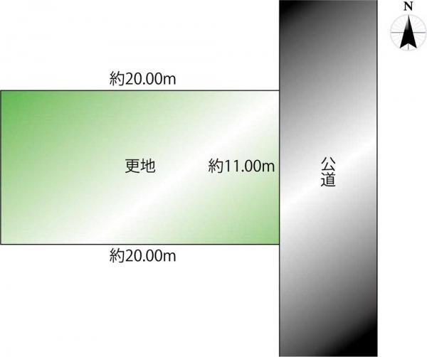 土地 丹波市260-35 JR福知山線藍本駅 190万円