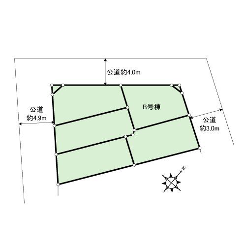 新築戸建 墨田区京島3丁目7-1 京成押上線京成曳舟駅  4080万円