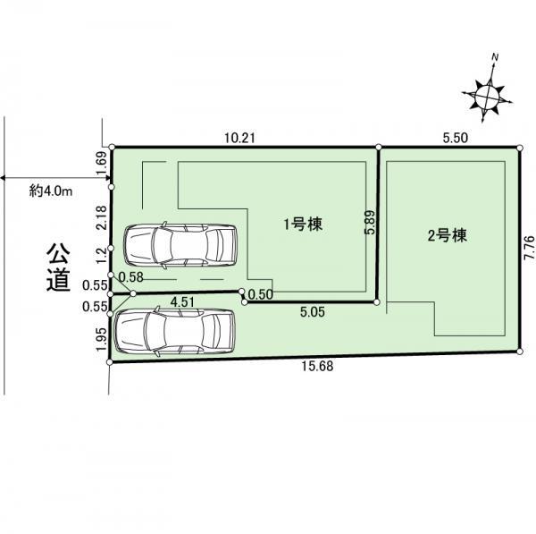 新築戸建 墨田区向島4丁目21-20 半蔵門線押上駅 6380万円