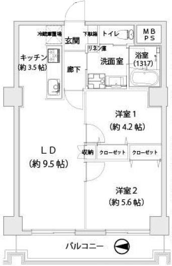 中古マンション 葛飾区亀有3丁目10-5 千代田常磐線亀有駅 2150万円
