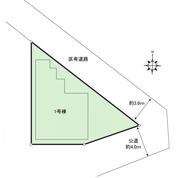 新築戸建 足立区六月1丁目 東武伊勢崎線竹ノ塚駅 4380万円