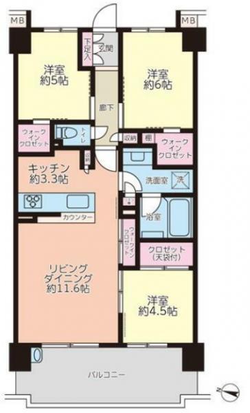 中古マンション 葛飾区新宿3丁目 京成本線京成高砂駅 3830万円