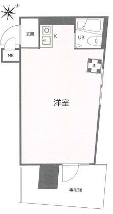 中古マンション 文京区根津2丁目 千代田線根津駅 1630万円