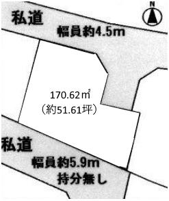 土地 あきる野市草花 JR青梅線福生駅 1780万円