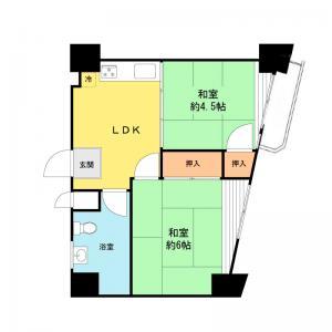 中古マンション 墨田区東向島1丁目17-8 東武亀戸線曳舟駅 10490000