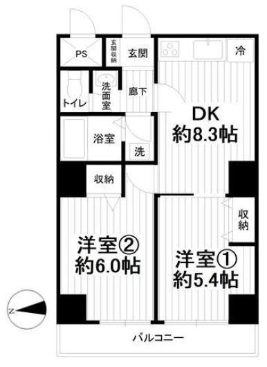中古マンション 横浜市南区別所4丁目 京急本線上大岡駅 1380万円