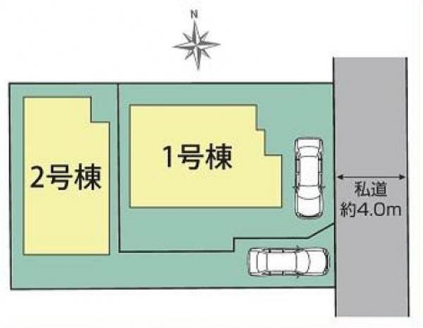 新築戸建 東久留米市弥生2丁目 西武新宿線花小金井駅 3980万円