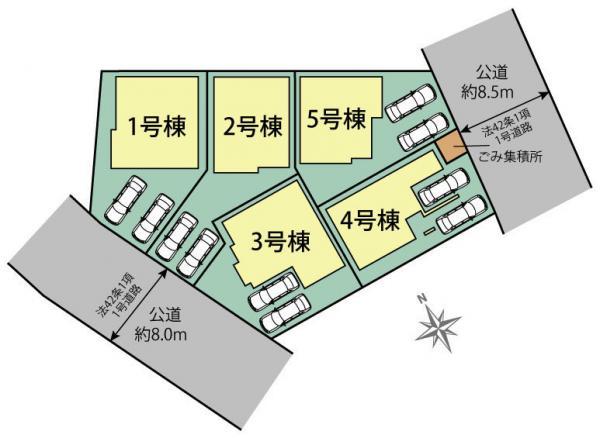 新築戸建 戸田市美女木2丁目 JR埼京線北戸田駅 4490万円