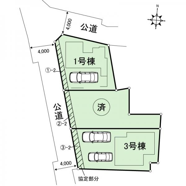 新築戸建 足立区関原2丁目 東武伊勢崎線西新井駅 4480万円