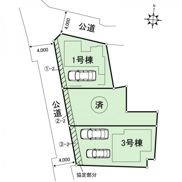 新築戸建 足立区関原2丁目 東武伊勢崎線西新井駅 4690万円