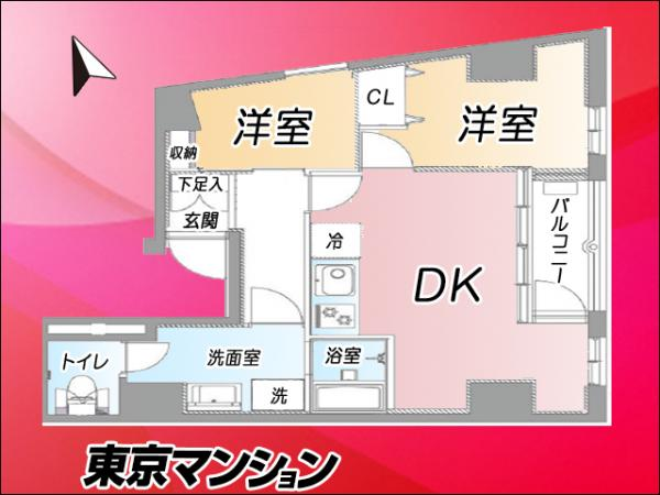 中古マンション 東京都台東区北上野1丁目7−7 JR山手線上野駅 2699万円
