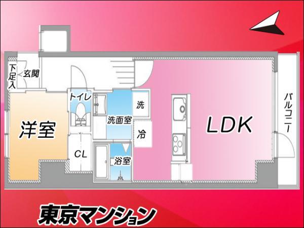 中古マンション 新宿区歌舞伎町2丁目9−18 JR山手線新宿駅駅 3199万円