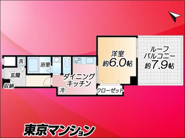 中古マンション 世田谷区宮坂3丁目12−4 小田急線経堂駅駅 1980万円