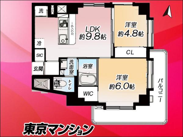 中古マンション 豊島区駒込3丁目20−12 南北線駒込駅  2599万円