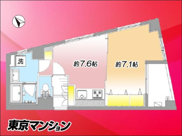 中古マンション 台東区下谷3丁目17-1 日比谷線三ノ輪駅  2099万円