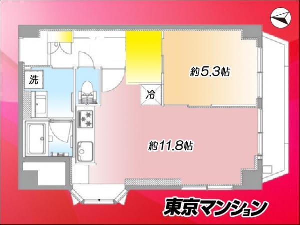 中古マンション 墨田区両国4丁目35-1 JR中央・総武線両国駅 2499万円