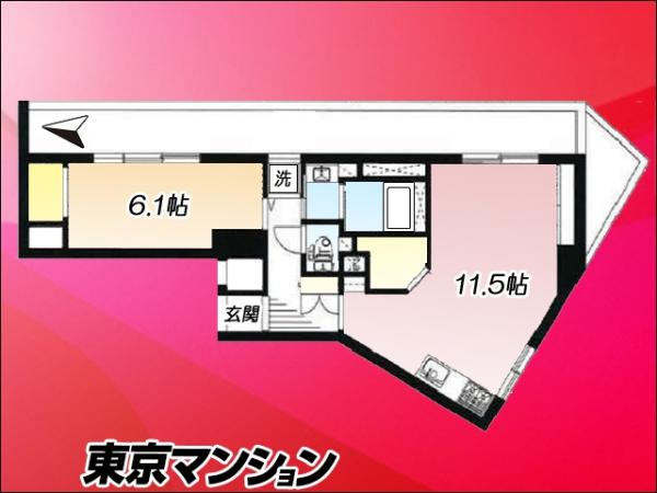 中古マンション 板橋区中板橋12-3 東武東上線中板橋駅 2088万円