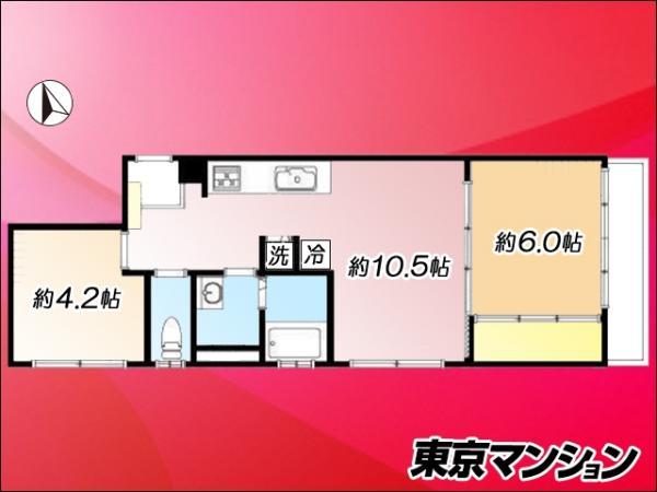 中古マンション 中央区佃2丁目18-4 有楽町線月島駅  2980万円