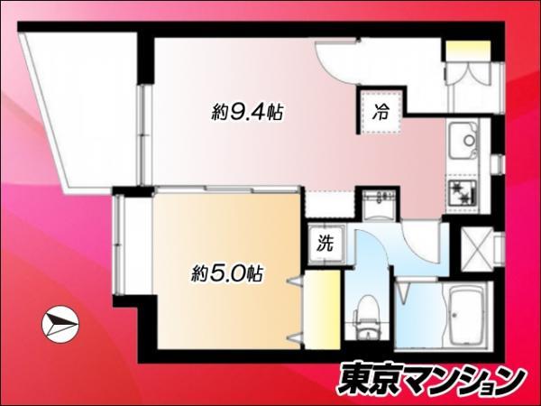 中古マンション 杉並区上荻4丁目10-8 JR中央線西荻窪駅 2499万円