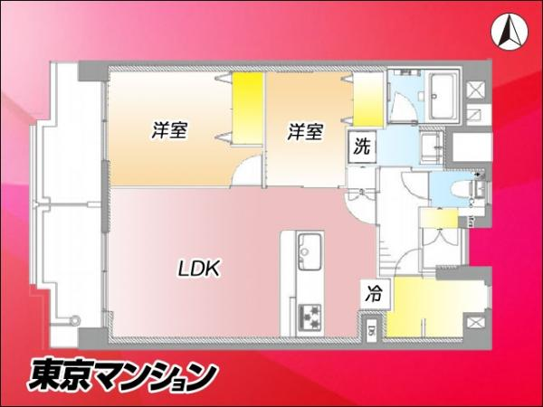 中古マンション 新宿区大久保3丁目10-1 JR山手線高田馬場駅  4499万円