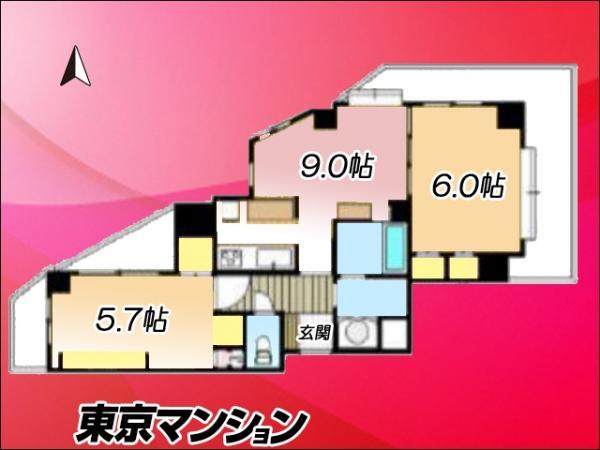 中古マンション 豊島区池袋1丁目15-5 JR山手線池袋駅 4680万円
