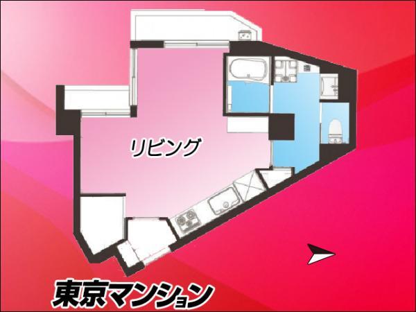 中古マンション 新宿区西早稲田2丁目4-25 東西線早稲田駅 2780万円
