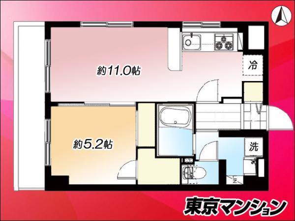 中古マンション 品川区西五反田2丁目31-11 JR山手線五反田駅 2899万円