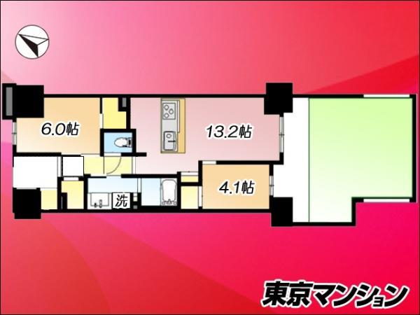 中古マンション 墨田区押上2丁目13-1 京成押上線押上駅 4680万円