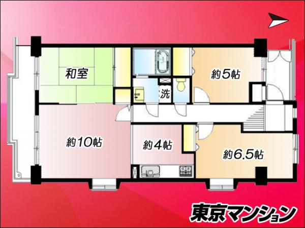 中古マンション 江東区東陽6丁目 東西線東陽町駅 3980万円