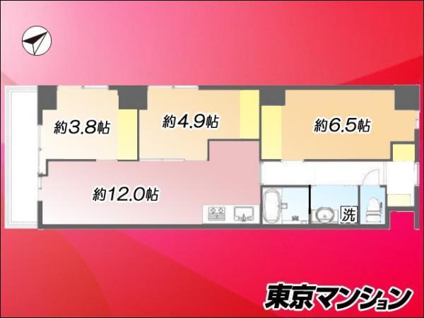 中古マンション 荒川区東日暮里4丁目2-17 JR山手線鶯谷駅  2990万円