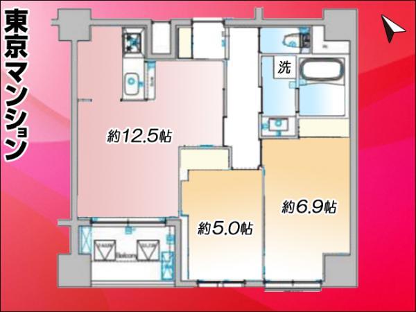 新築マンション 北区上十条4丁目16-8 JR埼京線十条駅 5048万円