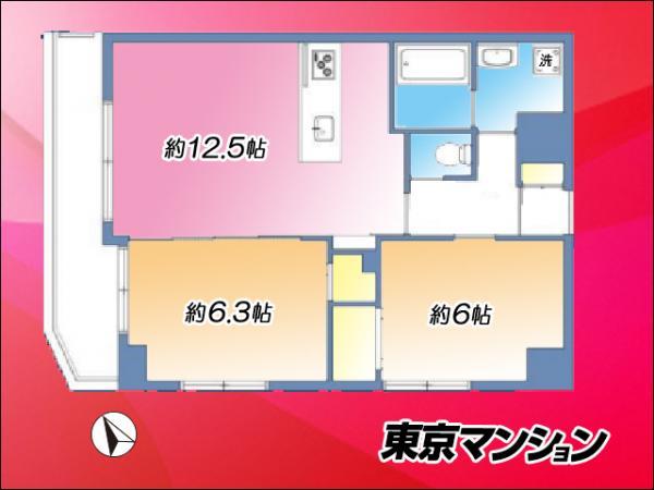 中古マンション 台東区寿3丁目9-11 銀座線田原町駅 4580万円