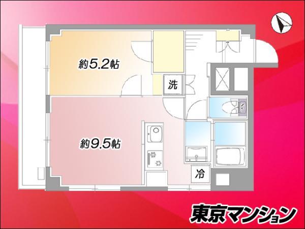 中古マンション 品川区西五反田8丁目12-5 JR山手線五反田駅 2999万円