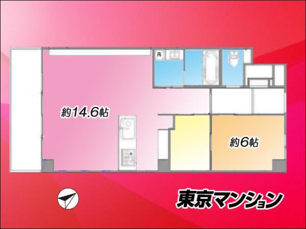 中古マンション 渋谷区恵比寿1丁目 JR山手線恵比寿駅 5099万円
