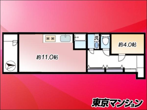 中古マンション 豊島区高田2丁目12-20 JR山手線目白駅 2780万円