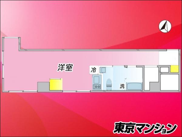 中古マンション 港区赤坂2丁目8-11 千代田線赤坂駅 2880万円