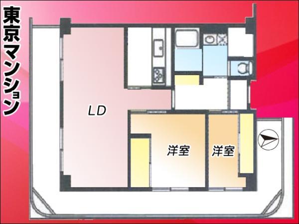 中古マンション 北区神谷3丁目10-8 南北線志茂駅 3200万円