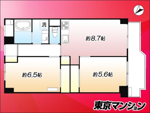 中古マンション 中央区築地7丁目18-28 日比谷線築地駅  3980万円