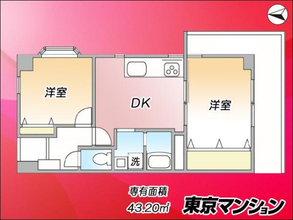 中古マンション 台東区日本堤2丁目31-2 日比谷線三ノ輪駅 2199万円