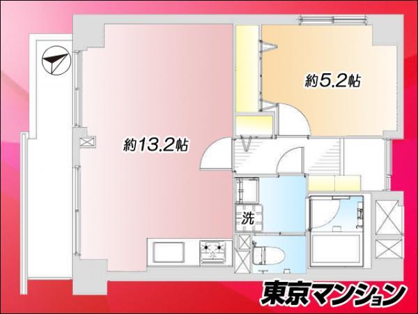 中古マンション 墨田区向島3丁目2-1 東武伊勢崎線とうきょうスカイツリー駅 2698万円