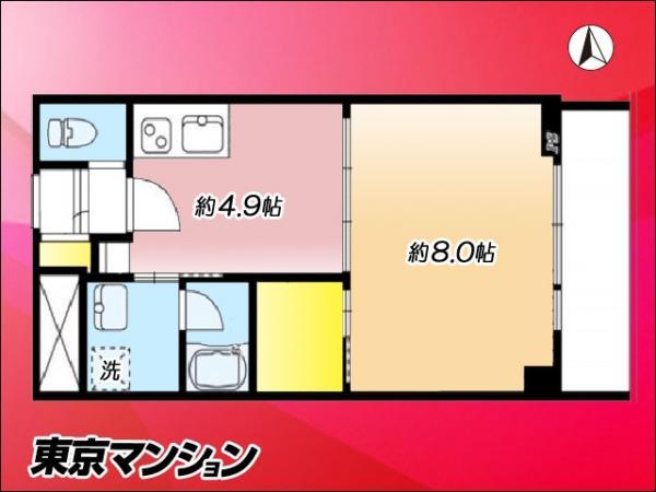 中古マンション 新宿区下宮比町2-28 JR中央・総武線飯田橋駅 2790万円