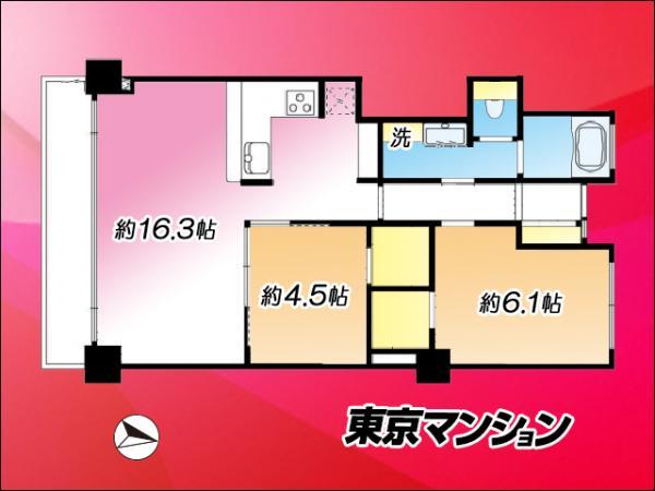 中古マンション 目黒区下目黒3丁目24-14 JR山手線目黒駅  5590万円