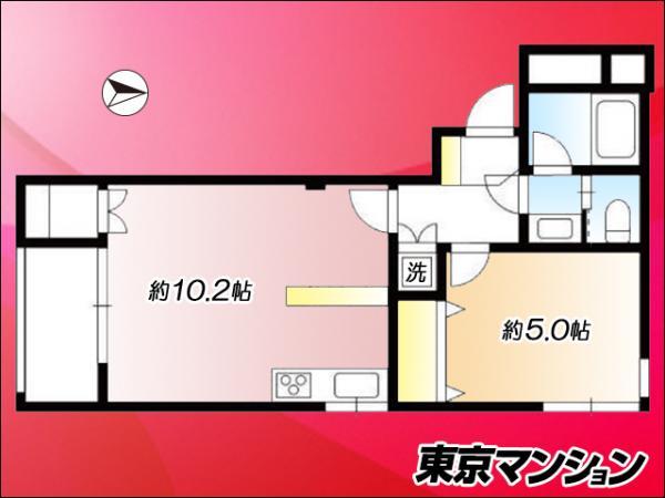 中古マンション 世田谷区経堂1丁目25-3 小田急線経堂駅 2180万円