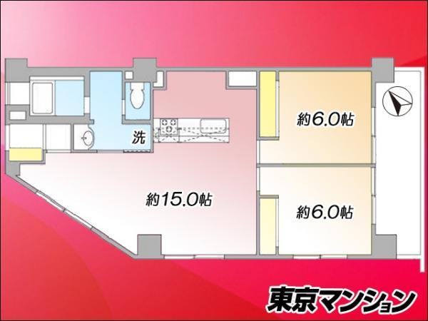 中古マンション 北区中里3丁目10-11 JR山手線駒込駅 3480万円