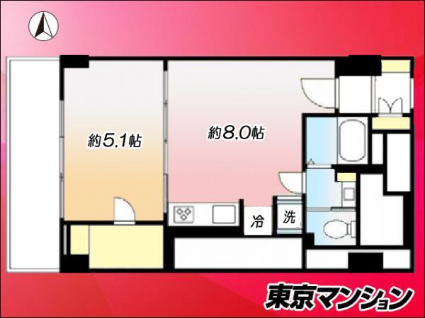 中古マンション 大田区西蒲田7丁目39-10 JR京浜東北線蒲田駅 2090万円