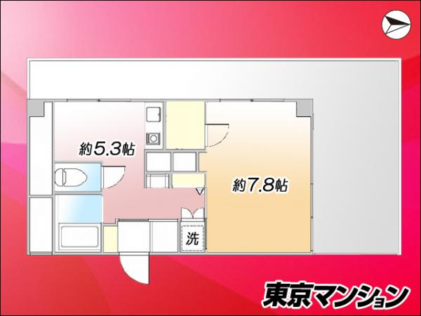中古マンション 墨田区江東橋3丁目2-2 JR中央・総武線錦糸町駅 1980万円