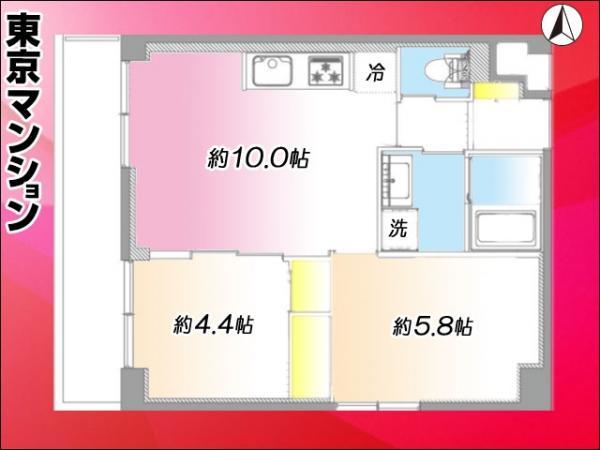 中古マンション 墨田区緑4丁目 JR中央・総武線錦糸町駅 2399万円